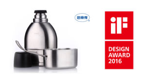 Stainless Steel Vacuum Canteen Double Wall Military Canteen Svt-750 pictures & photos