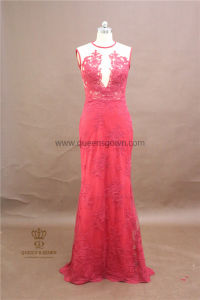 Wholesale Factory Price OEM Long Modern Lace Bridesmaid Dresses pictures & photos