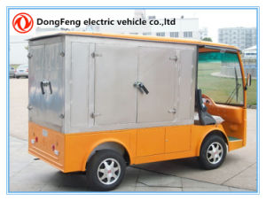 2 Passengers Electric Transportation Truck with Cango Box pictures & photos
