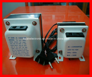 Step-Down Voltage Converter 220V-110V Transformer Adapter pictures & photos
