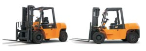 Brand New JAC 8ton Capacity Diesel Engine Forklift Truck pictures & photos