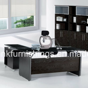 Glass Top Office Boss Table