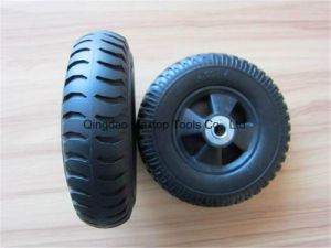 Maxtop Flat Free PU Foam Wheel pictures & photos