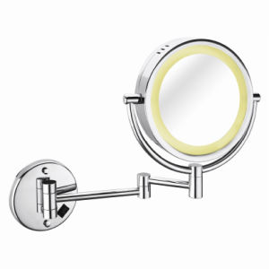 Shaving Mirror with SUS304 Stainless Steel Frame & LED Light (5721)