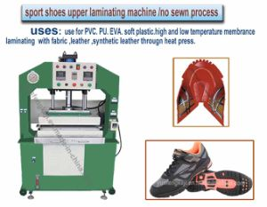 Woman Sport Shoes Fabric Hydraulic Heat Pressing Making Machine