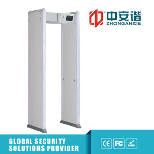 LCD Touch Screen Walk Through Metal Detector for Outdoor Use Metal Detector pictures & photos