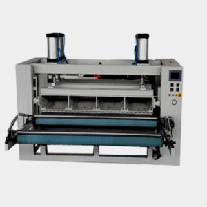 Automatic Seamless Concave and Convex Fabric Flat Heat Embossing Machine pictures & photos
