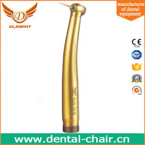 Most Economic Sliver Color Anti-Retraction Push Button Handpiece Dental for Dentist pictures & photos