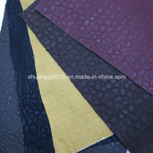 Be177 Fashion Embossed Synthetic Leather (PU) for Bags pictures & photos