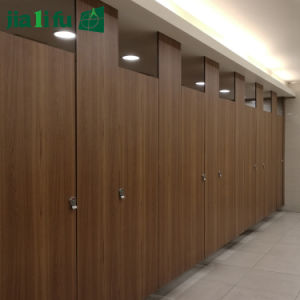 Jialifu Zink Alloy HPL Toilet Cubicle pictures & photos