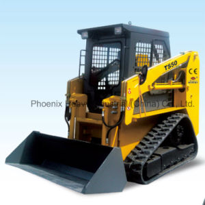 0.7ton Crawler Small Skid Steer Loaders with CE pictures & photos