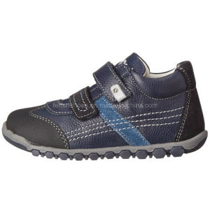 New Style Leather MID Cut Kids Sports Casual Shoes (WS1229-1) pictures & photos