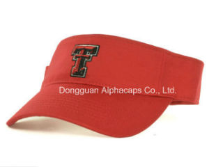 Great Fashion Hat Red Birdie Sun Visor Caps pictures & photos