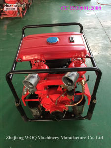 Bj-20A High-Capacity Portable Fire Fighting Pumps with 2 Outlets pictures & photos
