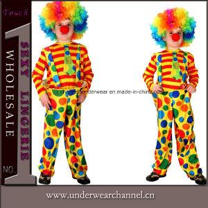 Carnival Halloween Clown Suit Party Kid Children Costume (TCQ0056) pictures & photos