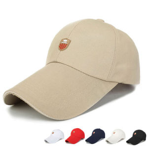 PVC Tag Cotton Canvas Promotional Baseball Sport Cap (YKY3078) pictures & photos