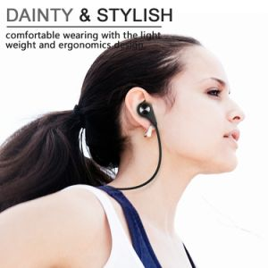 Q9 Wireless Bluetooth 4.1 in-Ear Noise Cancelling Sweatproof Running Headset Earphones Headphones Earbuds with Mic Apt-X pictures & photos