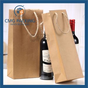 Brown Wine Packing Bag for Wine (DM-GPBB-193) pictures & photos