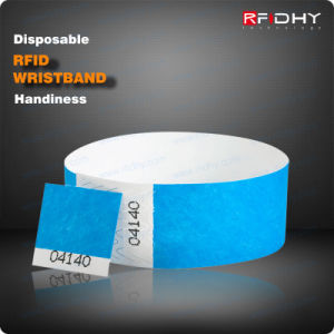 Cost Effective One-Time Using RFID Wristband for Hospital Patient pictures & photos