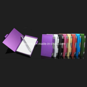 Aluminum Note Pad Holder for Promotion Gifts pictures & photos