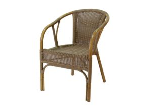 Professional Supplier Aluminum Rattan Wicker Outdoor Dining Chairs (RC-06069) pictures & photos