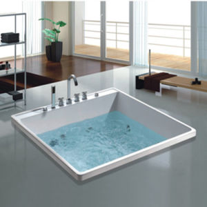 Bathroom Furniture Flushbonading SPA Hot Tub (NJ-6001) pictures & photos