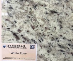Granite White Rose Polished Factory Direct pictures & photos