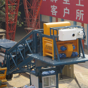New Design! Yhzs50 (50m3/h) High Quality Mobile Concrete Batching Plant with CE pictures & photos