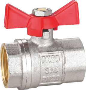 Brass Ball Valve with Aluminum Handle BV-1370 F/F pictures & photos