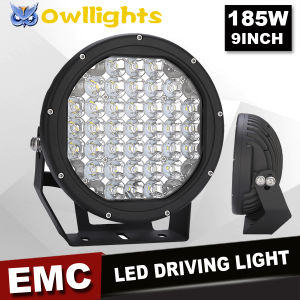 2016 New Housing! ! 4X4 Accessories 9inch 185W LED Driving Lights Round 12V Auto Parts LED Spot Driving Light 4X4 LED Work Light