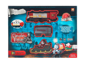 Electric Railway Train B/O Plastic Classic Train Set (H0849005) pictures & photos