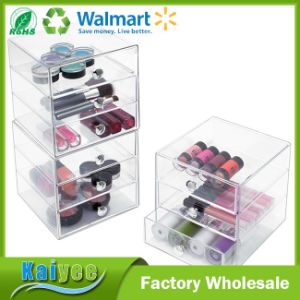 3 Drawer Storage Organizer for Cosmetics, Beauty Products, Clear pictures & photos
