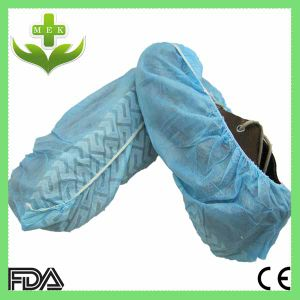 Disposable PP Non Woven Anti-Skid Shoe Cover by Hand pictures & photos