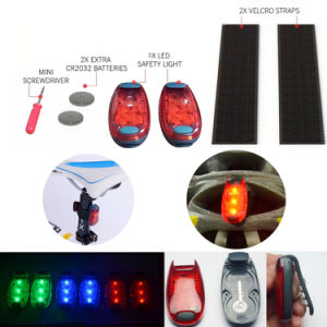 Portable Multipurpose Reflective Gear Running Bike Pet LED Safety Light pictures & photos