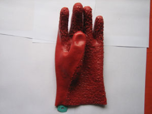 13G Jersey Liner PVC Work Glove pictures & photos