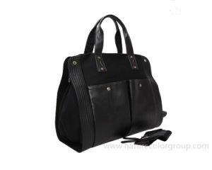 Leisure Canvas Black Handbag for Outdoor pictures & photos