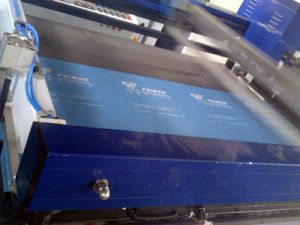 Fb-Nwf12010W Model The New Design One Color Non-Woven Fabric Screen Printing Machinery