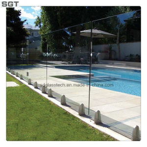 8-12mm Low Iron Clear Toughened Frameless Balustrade Glass Pool Fencing Glass pictures & photos