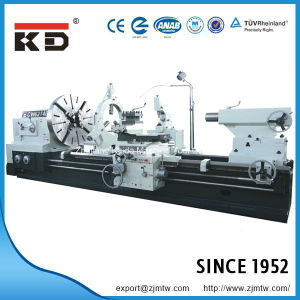 Cutting Machine Large Sized Big Bore Manual Lathe Cw61140/10000 pictures & photos