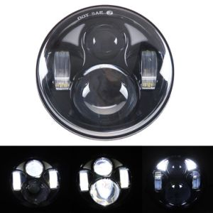 "5.75"" 40W Harley Motorcycle LED Headlight pictures & photos"