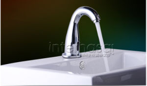 No Handle Resturaunt and Home New Fully-Automatic Faucet Copper Intelligent Sensor Cold/Hot Faucet Induction pictures & photos