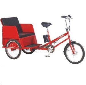 Man Power Tricycle with Battery Asistance