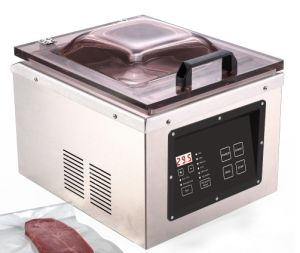 Stainless Steel Chamber Vacuum Sealer (YJS822) pictures & photos