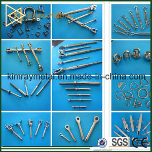 AISI316 Stainless Steel Threaded Swage Terminal pictures & photos