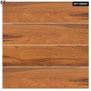 Four Designs Building Material Wooden Grain Ceramic Floor Tile (MY156061) pictures & photos