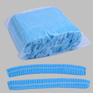 Stock Hotsale for Single Elastic Medical Nonwoven Mob Cap pictures & photos