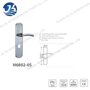 High Quality 304 Stainless Steel Door Lock (H6802-05) pictures & photos