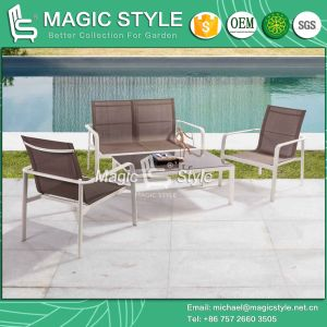 Sling Sofa Set Textile Chair Textile Furniture Outdoor Furniture Aluminum Furniture Stackable Chair (Magic Style) pictures & photos