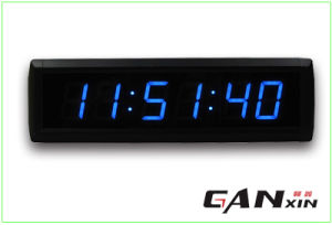 [Ganxin] Small Size High Quality LED Time Alarm Clock pictures & photos