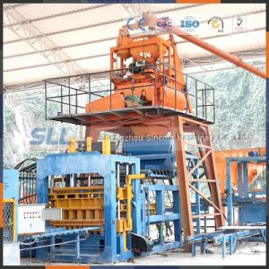 High Production Rate Concrete Block Making Machine Price pictures & photos
